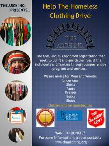 Help The Homeless Clothing Drive